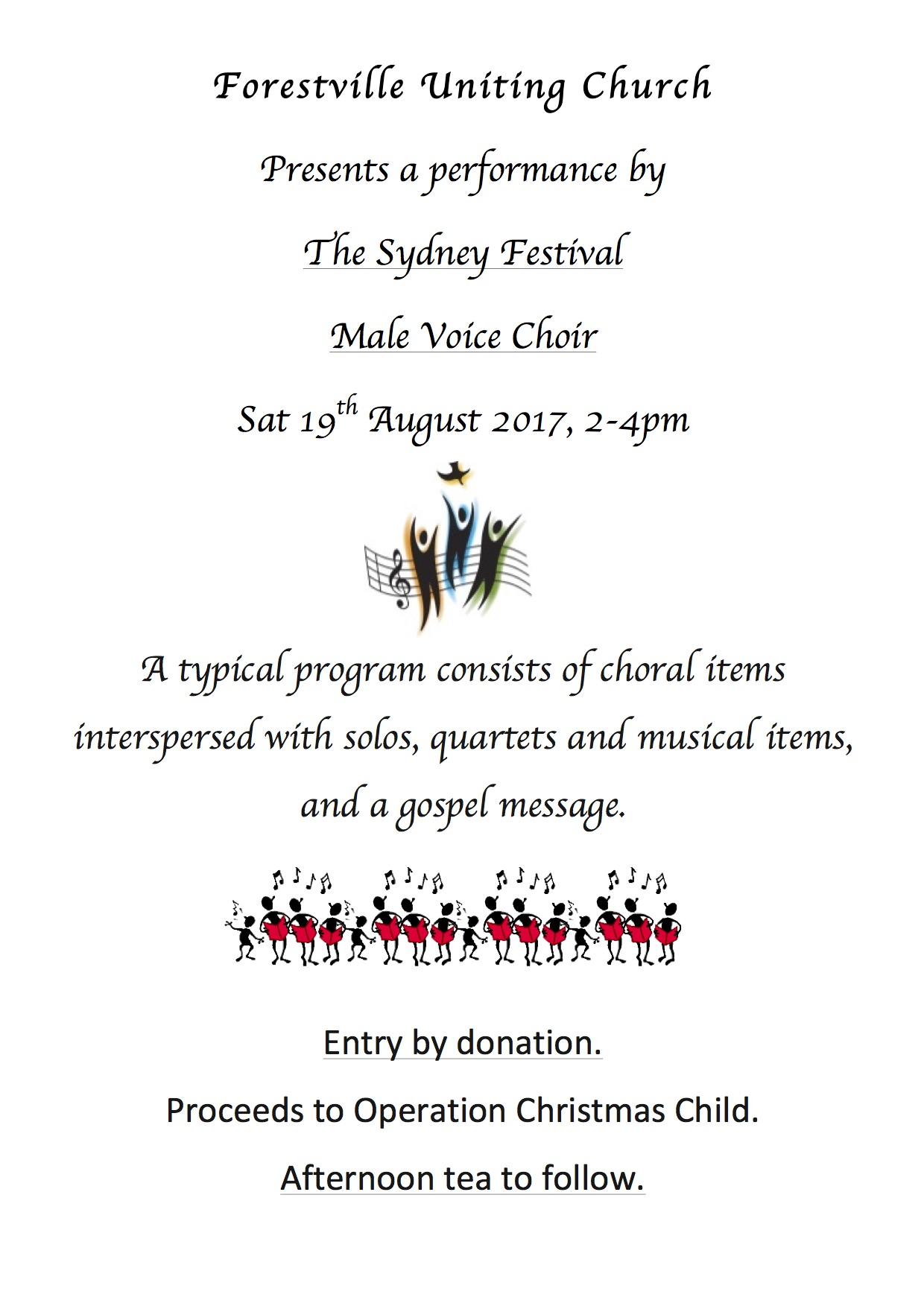 sydney male voice choir