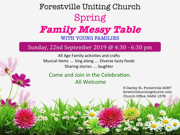 Spring Family Table 2019